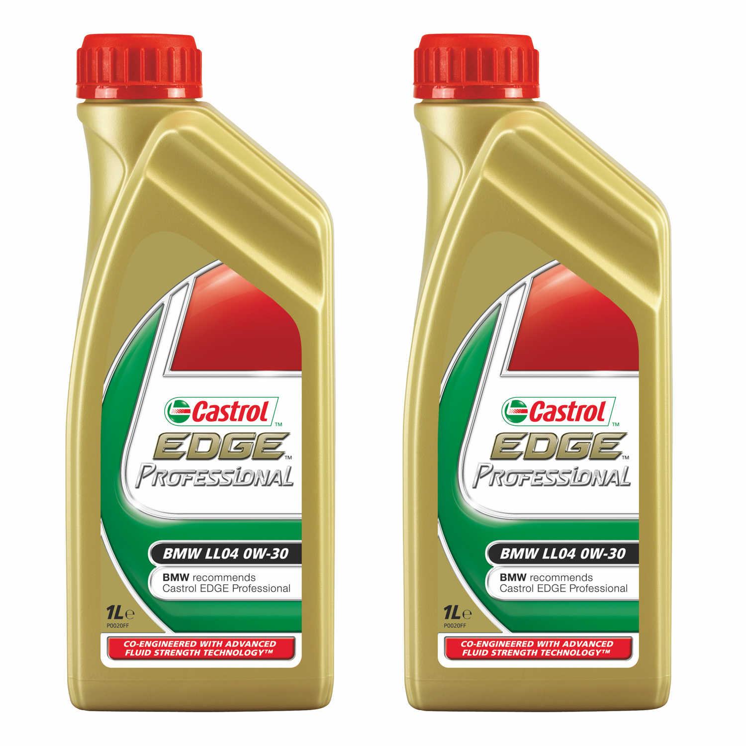 castrol edge professional fully synthetic ll04 0w30 bmw engine oil refill 2x1l ebay. Black Bedroom Furniture Sets. Home Design Ideas